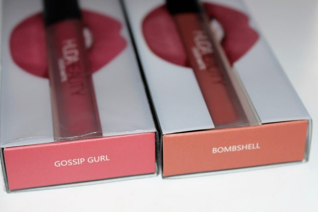 Huda Beauty Liquid Matte Review & Swatches