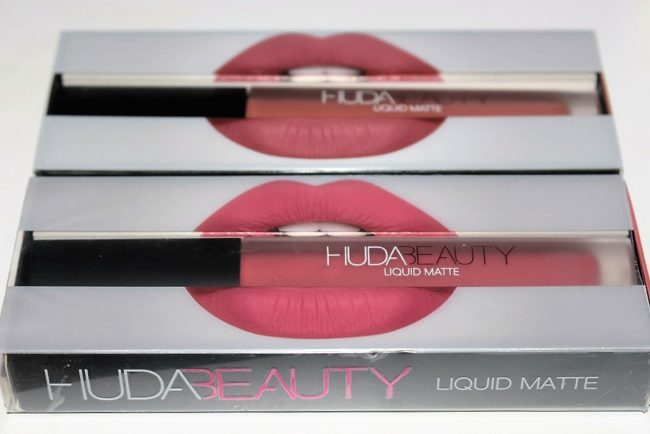 Huda Beauty Liquid Matte Review & Swatches