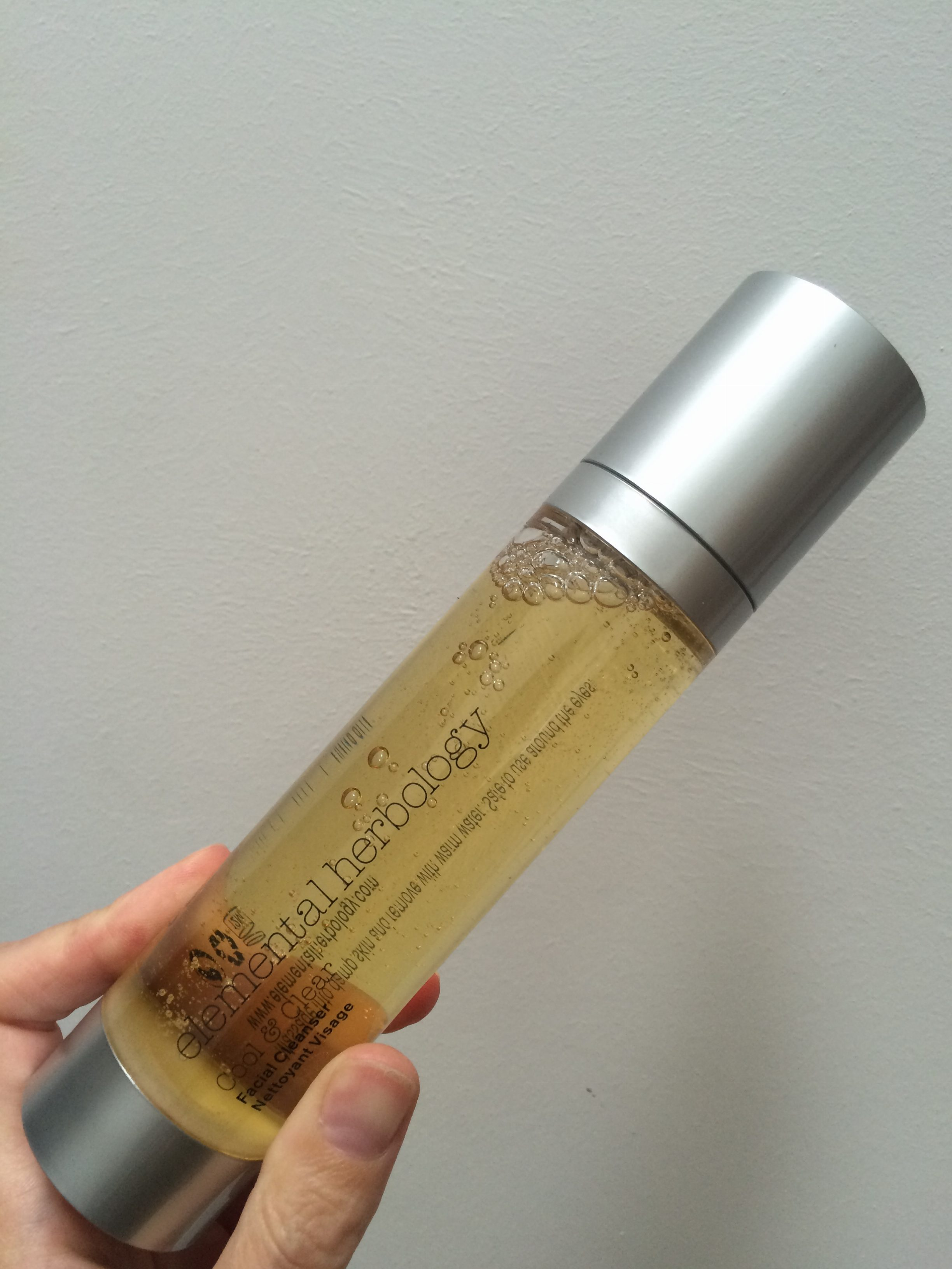 Elemental Herbology Oil Control Collection cool and clear facial wash