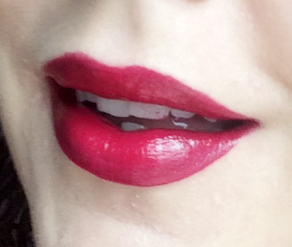 Topshop Liquid Lip Review Ombre worn