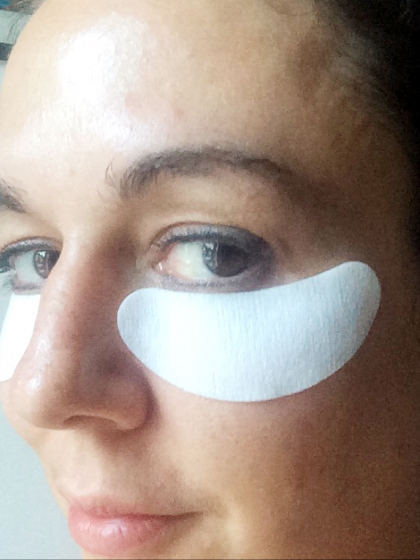 Eyetreat Spa Eye puffiness minimising patches by masque bar review