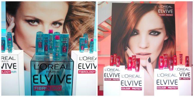 L'Oreal Elvive Colour Protect and Fibrology haircare range