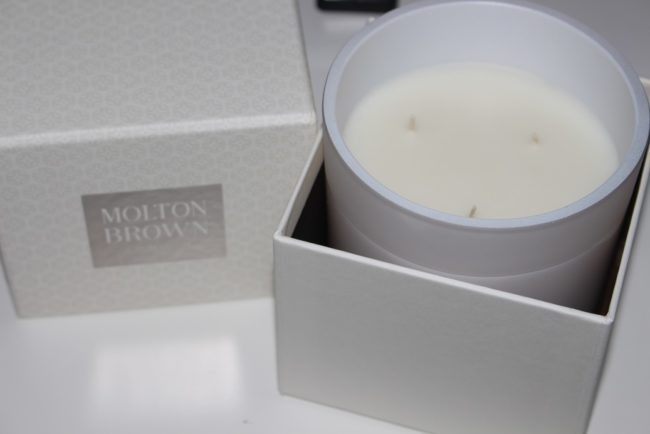 Molton Brown Coco and Sandalwood Three Wick Candle Review