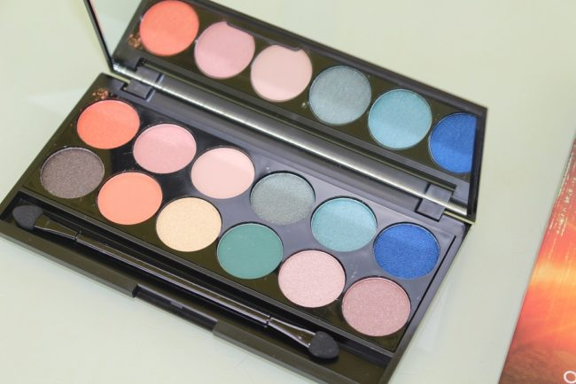 Sleek On The Horizon i-Divine Palette Swatches