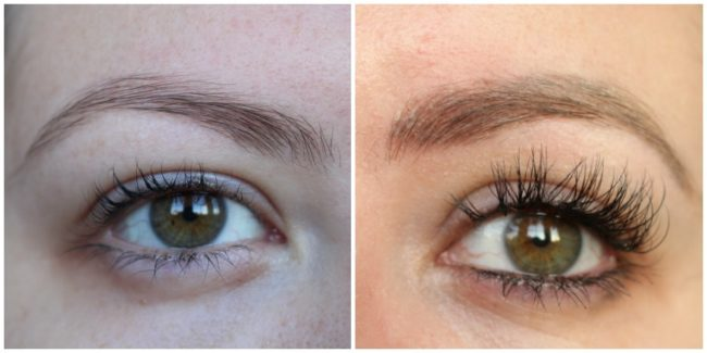Eyebrow Microblading before & After