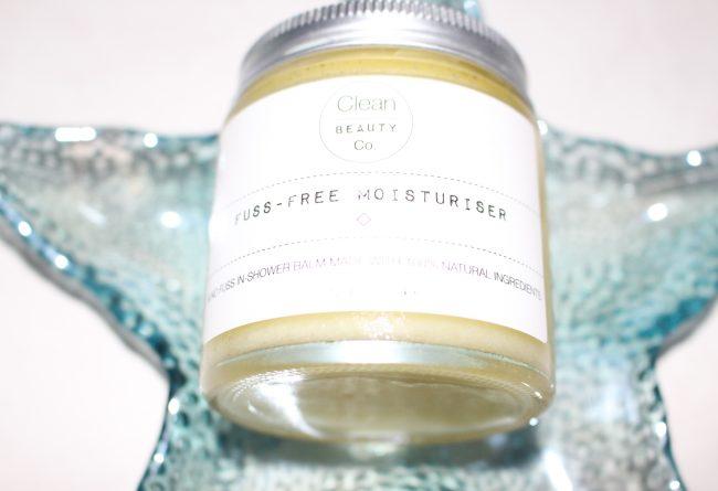 Clean Beauty Co. Fuss Free Moisturiser Review