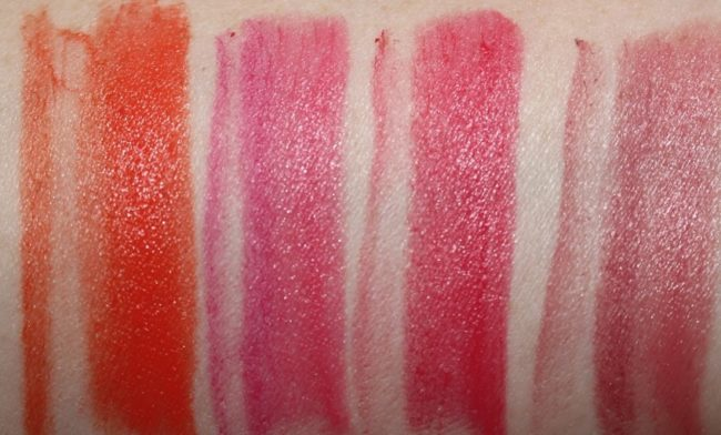Benefit They're Real Big Sexy Lip Kit Swatches