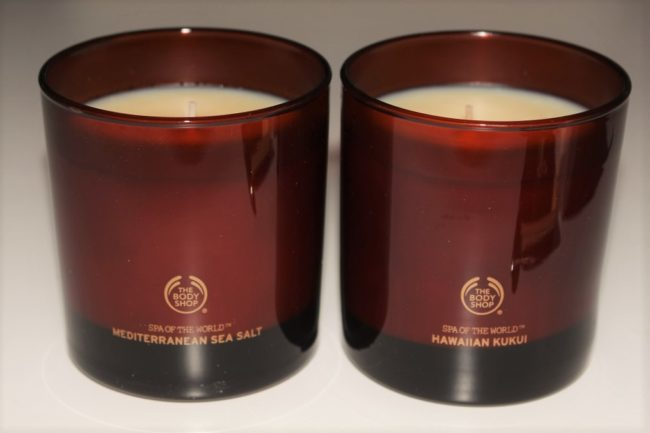 Body Shop Spa of the World Candles