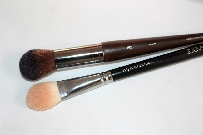 Makeup Forever Pro Light Fusion Highlighter - Brushes to use
