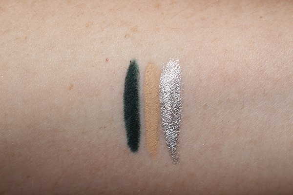 NARS High Pigment Longwear Eyeliner Swatches - Grafton Street, Rue Bonaparte & The Strip
