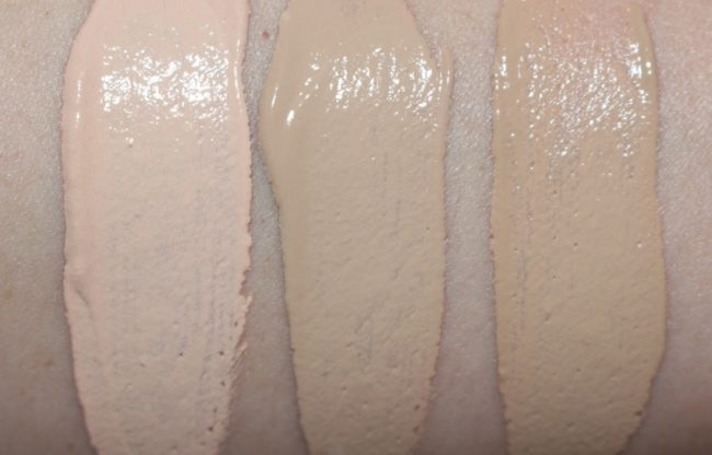 Rimmel Fresher Skin Foundation Swatches