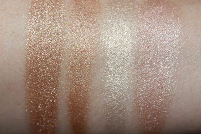 Sleek Cleopatra's Kiss Highlighting Palette Swatches