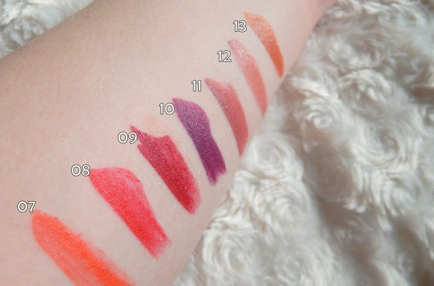 4u2 Lipaholic Lipsticks Swatches Pt 2