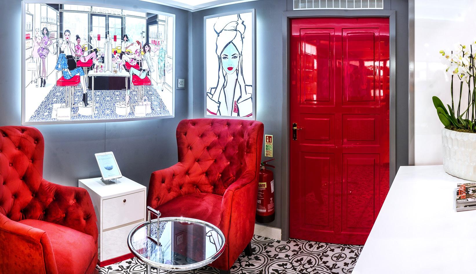 Elizabeth Arden Red Door Spa London Debenhams