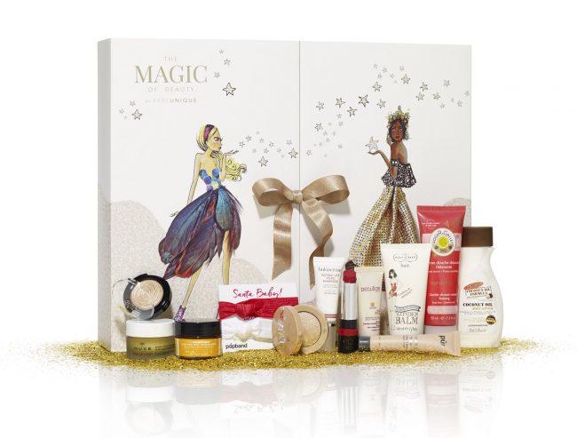 feel unique advent calendar 2016 magic of beauty. Black Bedroom Furniture Sets. Home Design Ideas