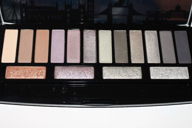 Lancome Audacity in London Palette Review