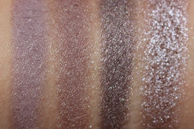 Lancome Audacity in London Palette Swatches