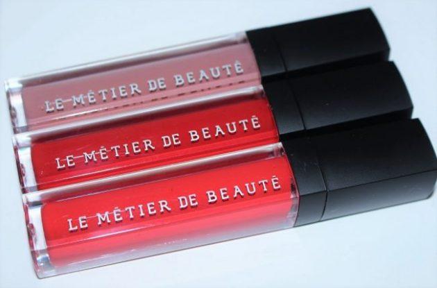 Le Metier de Beaute Moisture Matte Lip Creme Review & Swatches
