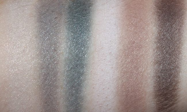 NARS Sarah Moon Give In Take Dual Intensity Eye & Cheek Palette Swatches - Dry