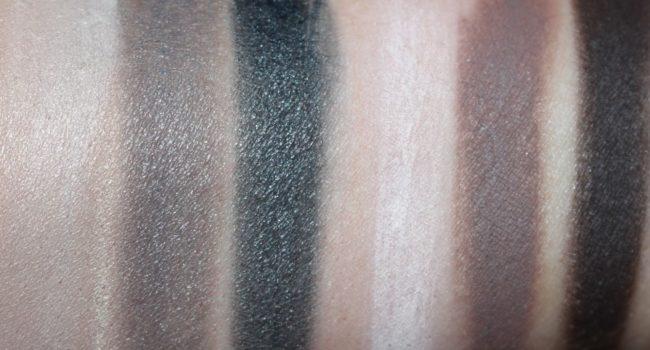NARS Sarah Moon Give In Take Dual Intensity Eye & Cheek Palette Swatches - Wet