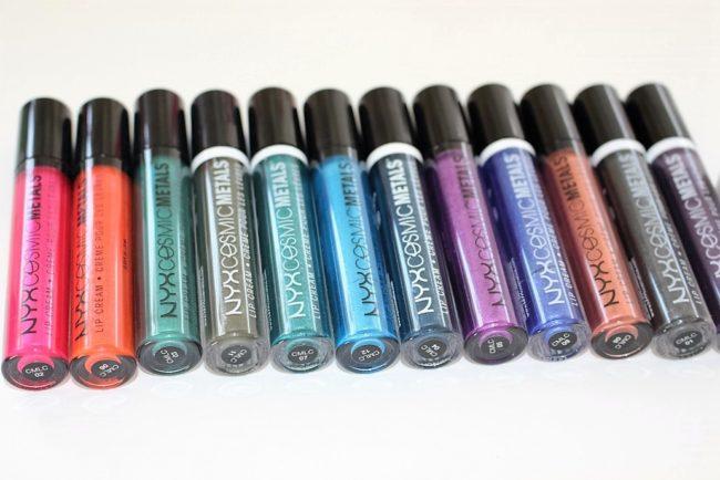 NYX Cosmic Metal Lip Cream Review