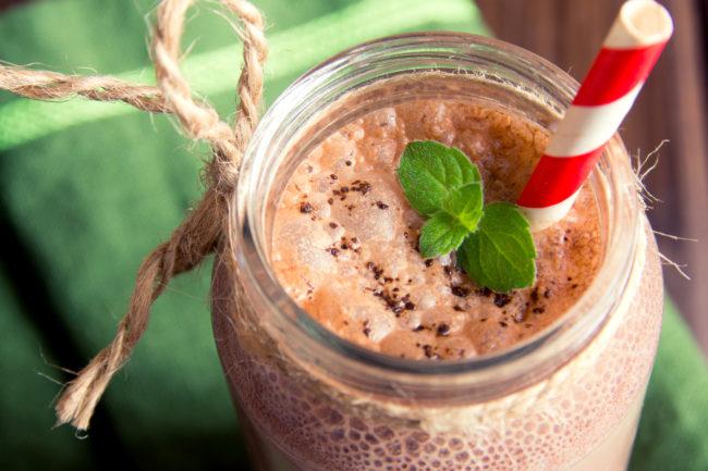 Chocolate smoothie Recipes (milkshake)