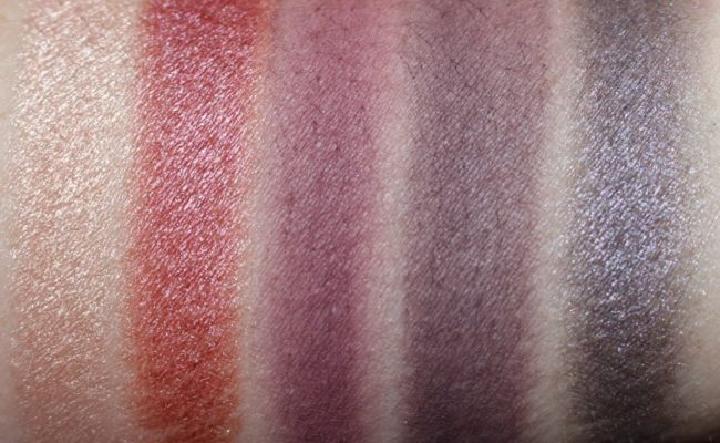 Ciate Chloe Morello Eyeshadow Palette Swatches