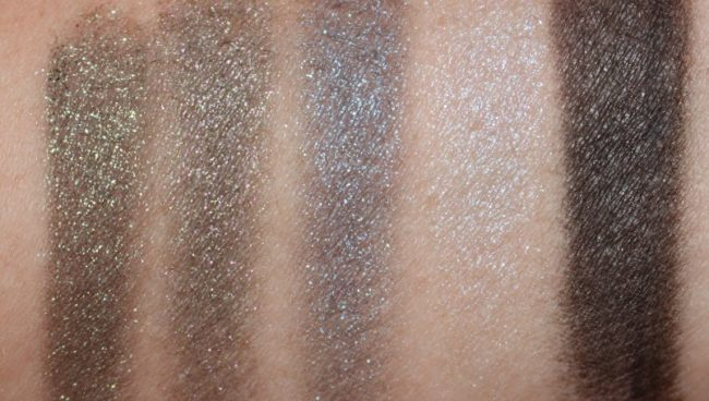 Models Own Holochrome Eyeshadow Swatches