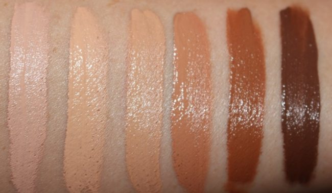 NARS New Radiant Creamy Concealer Shades Swatches