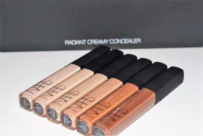 NARS New Radiant Creamy Concealer Shades
