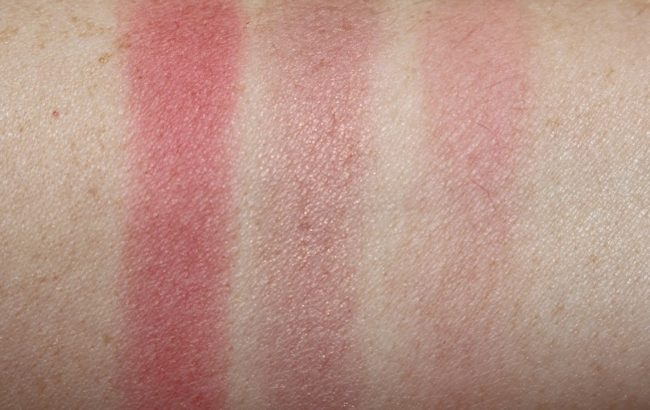 NARS Pop Goes the Easel Blush Swatches