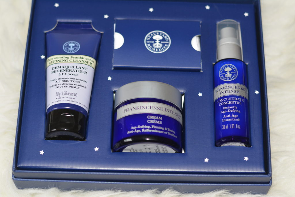 Neal's Yard Frankincense Intense Organic Beauty Collection Contents