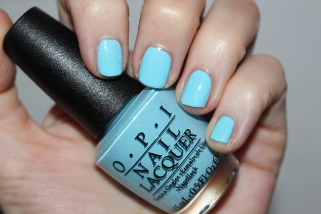 OPI Breakfast at Tiffany's I Believe in Manicures
