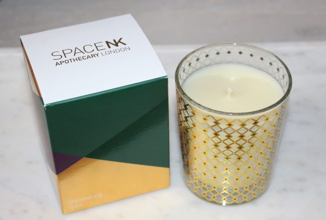 Space NK Shimmering Spice Candle 2018