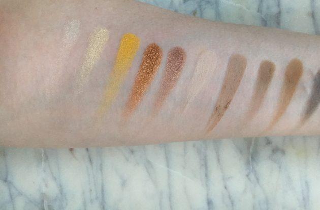 Zoeva Plaisir Box - Blanc Fusion Eyeshadow Palette Swatches