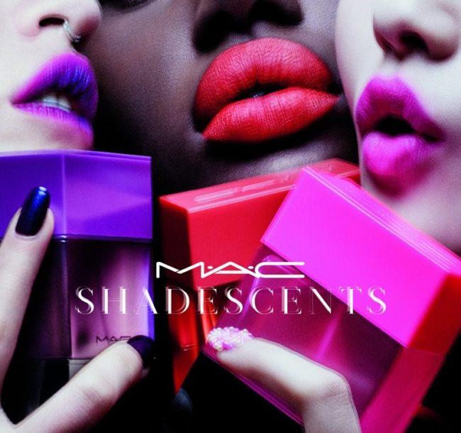 MAC Shadescents Fragrance & Lipsticks