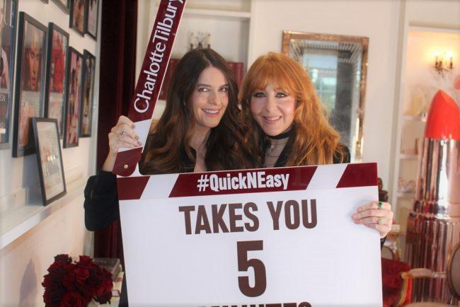 Charlotte Tilbury Interview & Quick N Easy Tutorial VideoCharlotte Tilbury Interview & Quick N Easy Tutorial Video