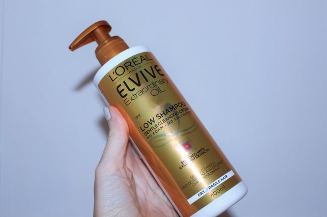 L'Oreal Elvive Low Shampoo Review - Extraordinary Oil