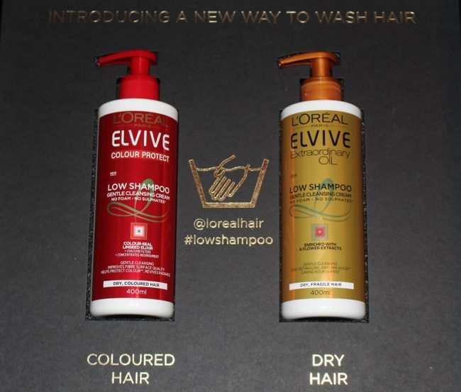 L'Oreal Elvive Low Shampoo Review - Extraordinary Oil, Colour Protect
