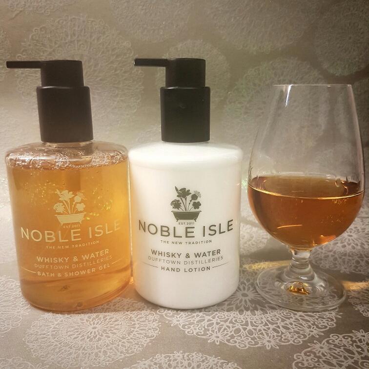 Noble Isle Whisky & Water