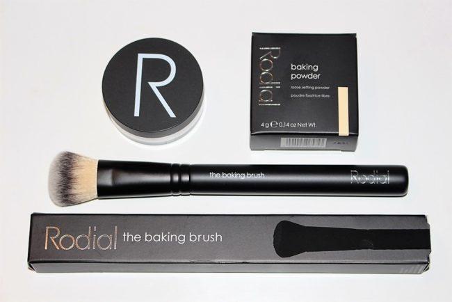 Rodial Baking Powder & Baking Brush