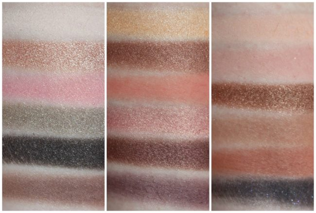 Too Faced Sweet Peach Collection Eyeshadow Swatches