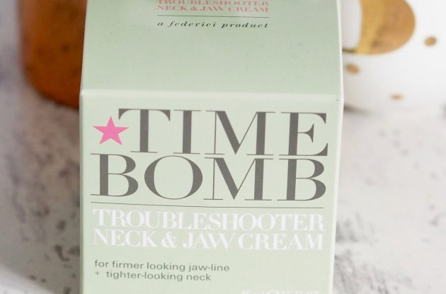 Time Bomb Troubleshooter Neck & Jaw Cream Review