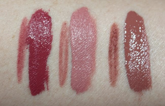 Barry M Matte Me Up Lip Kit Swatches