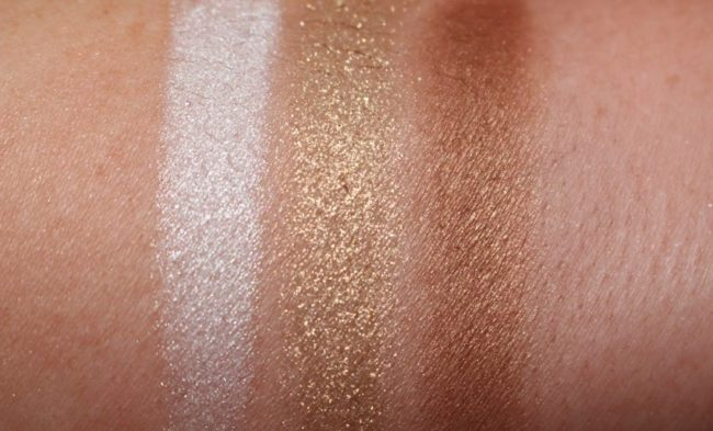 Bronzed To Be Swatches