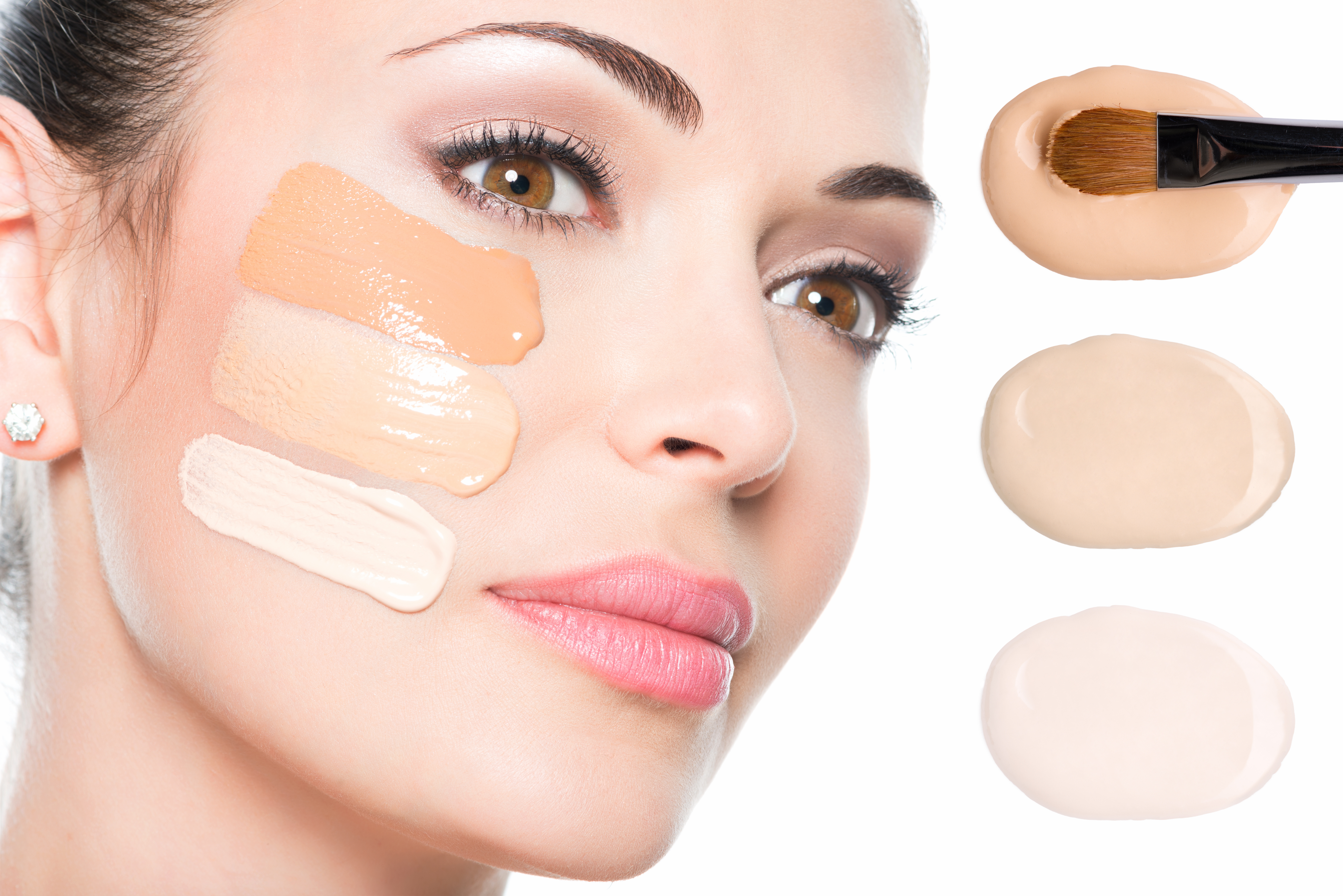 Choose the right foundation for your skin colour and type