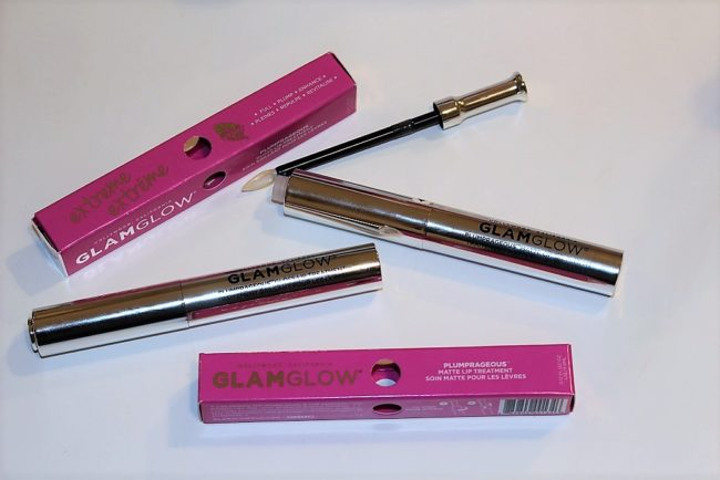 GLAMGLOW Plumprageous Matte & Gloss Lip Treatments Review