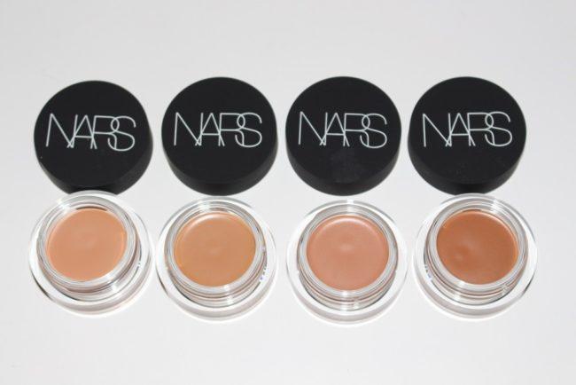 NARS Soft Matte Complete Concealer - Biscuit, Caramel, Chestnut, Amande