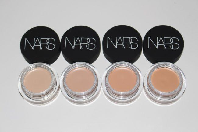 NARS Soft Matte Complete Concealer - Chantilly, Vanilla, Creme Brulee, Canelle