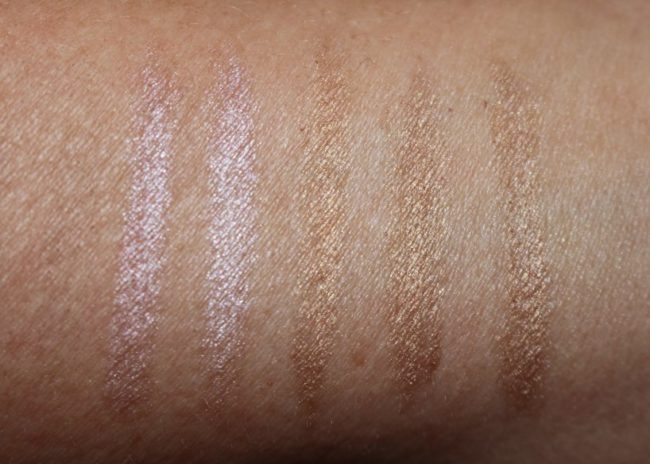 Sleek Makeup Brow Intensity Swatches